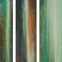 Mineral Seep Triptych