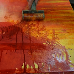 Brayering powdered pigment 2