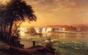 Albert-Bierstadt-The-Falls-of-St.-Anthony