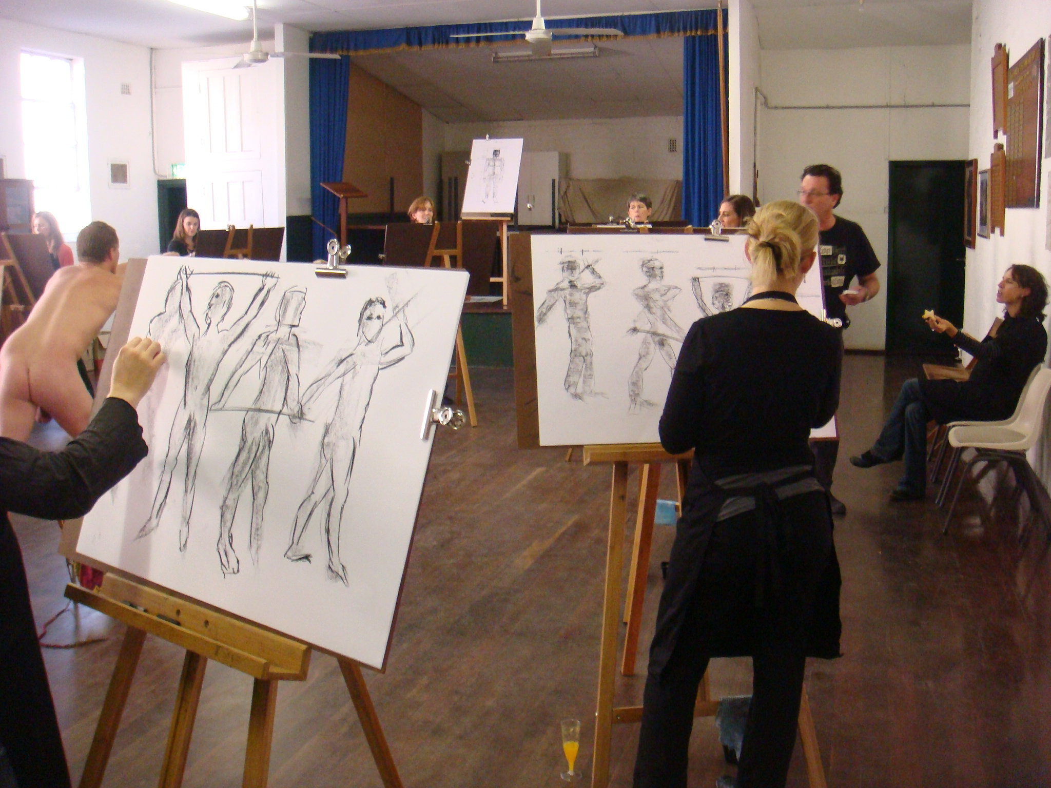 Drawing class Nude Photos 66