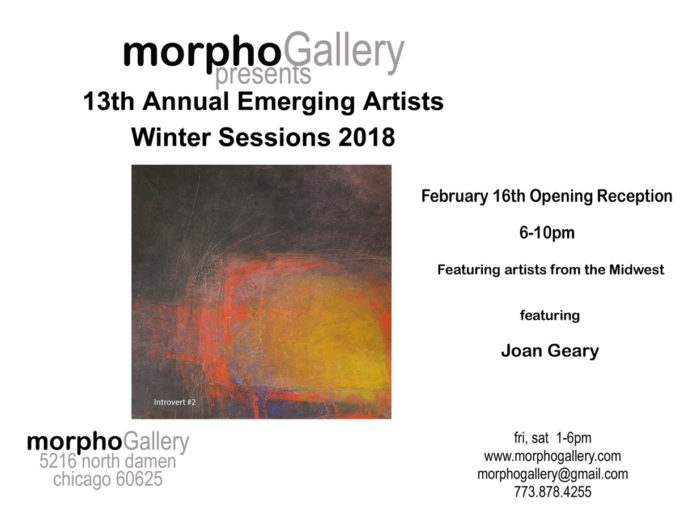 Morpho Gallery Winter Exhibition - Joan Geary Studio